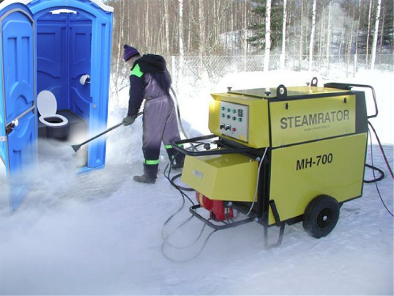 Туалет без канализации, работа септика на даче в зимний период