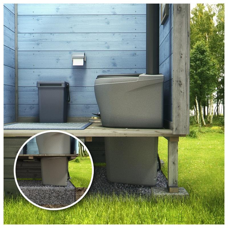 Туалет без канализации, торфяной туалет для дачи