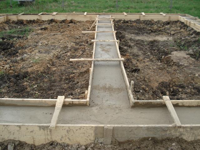 Бетон для ленточного фундамента загородного дома