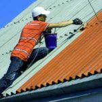 Чем покрасить шифер на крыше