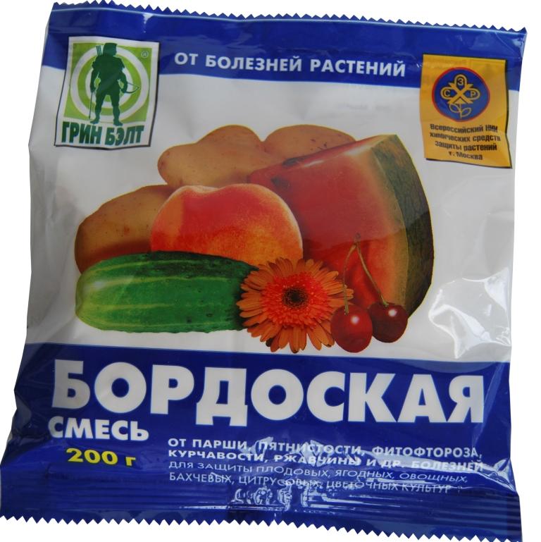 Бордоская жидкость для лечения монилиоза на абрикосе
