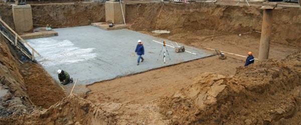 Грамотная бетонная подготовка под фундамент дачного дома