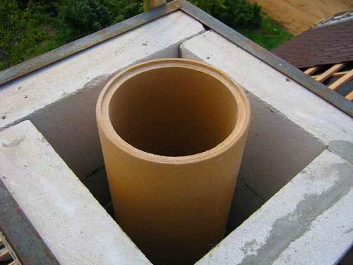 Как самостоятельно провести гильзование дымохода на даче