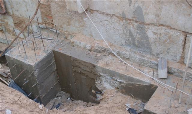 Как укрепить фундамент кирпичного дома по периметру