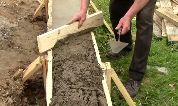 Как выровнять фундамент после заливки по уровню