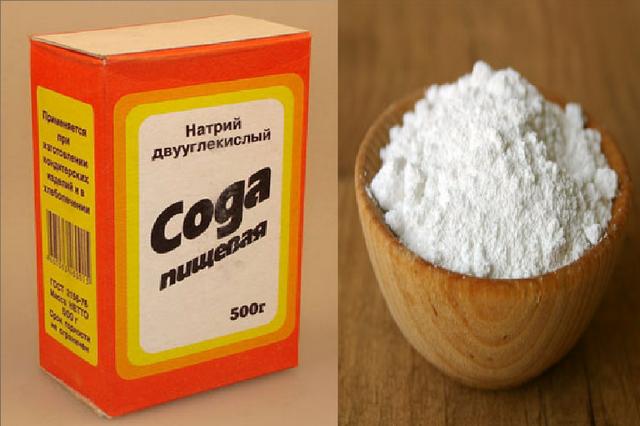 Пищевая сода для обработки винограда от грибковых заболеваний