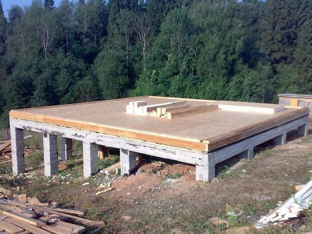 Фундамент загородного дома на склоне – что необходимо учесть при его обустройстве