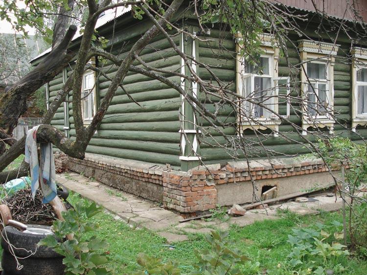 Как подлить фундамент под старый деревянный дом рекомендации