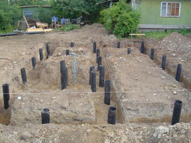 Как самостоятельно построить фундамент дачи на буронабивных сваях