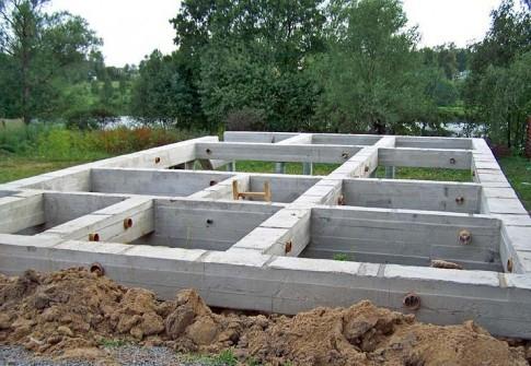 Особенности строительства фундамента для дома из газобетона