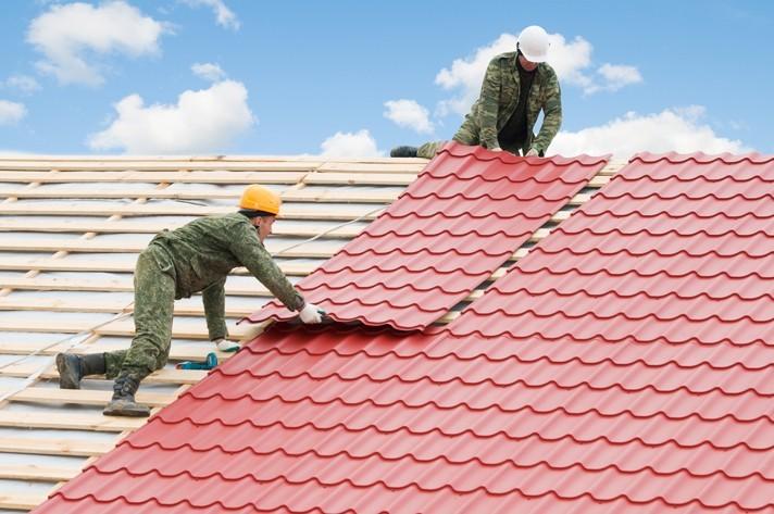 Ремонт крыши частного дома - полная замена кровли