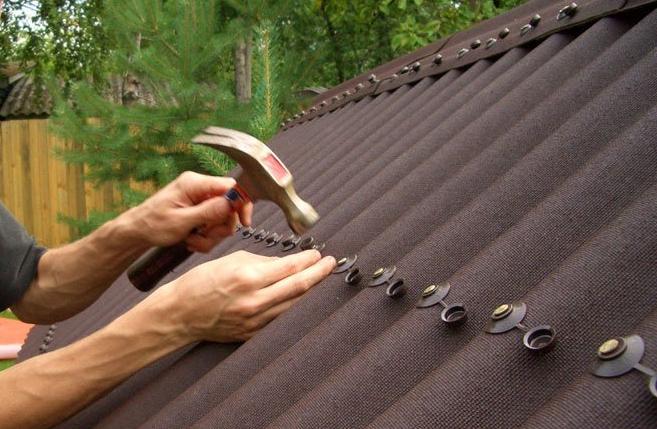 Ремонт крыши (мягкой кровли) частного дома