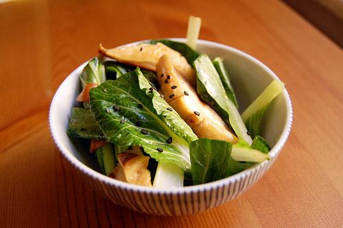 Рецепт салата из пак-чой с шиитаке - как приготовить блюдо