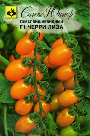 Помидоры черри сорта для открытого грунта низкорослые - томат вишневидный Черри Лиза