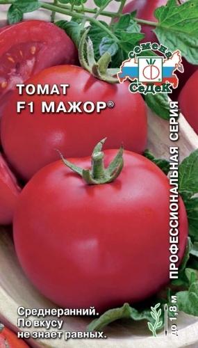 Сорта помидор для теплицы из поликарбоната - лежкий Мажор