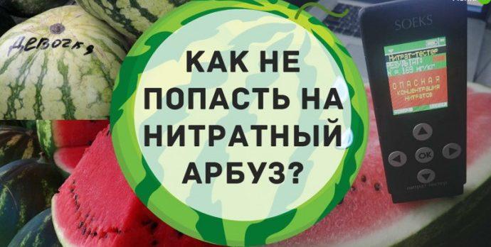 Почему арбуз желтый внутри - проверяем на наличие нитратов