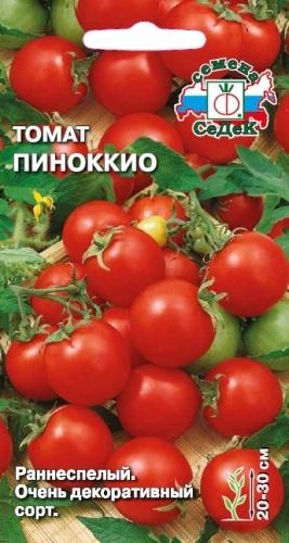 Раннеспелые томаты сорта Пиноккио