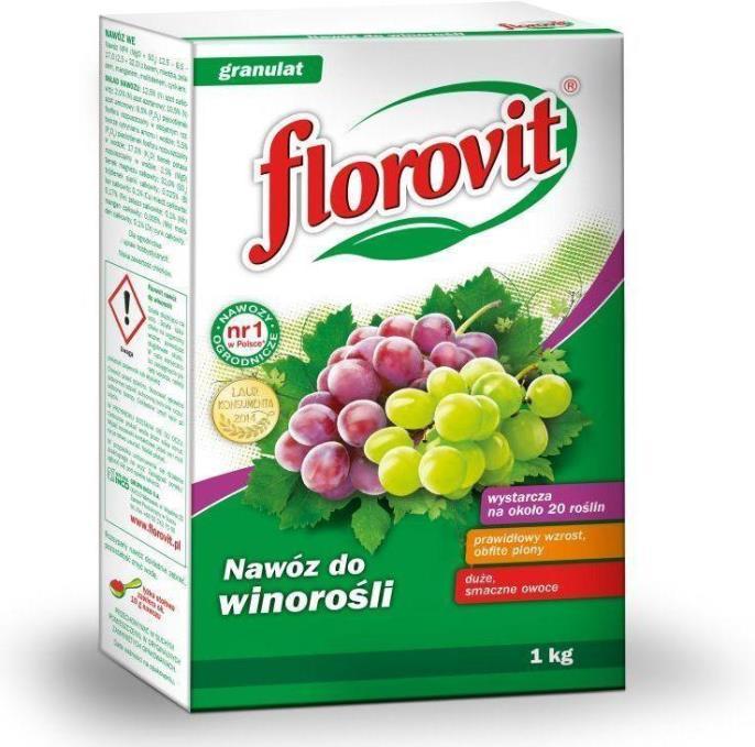 Подкормка винограда осенью - минеральное удобрение Флоровит