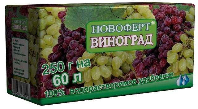 Подкормка винограда осенью - в какое время приступать к осенней подкормке