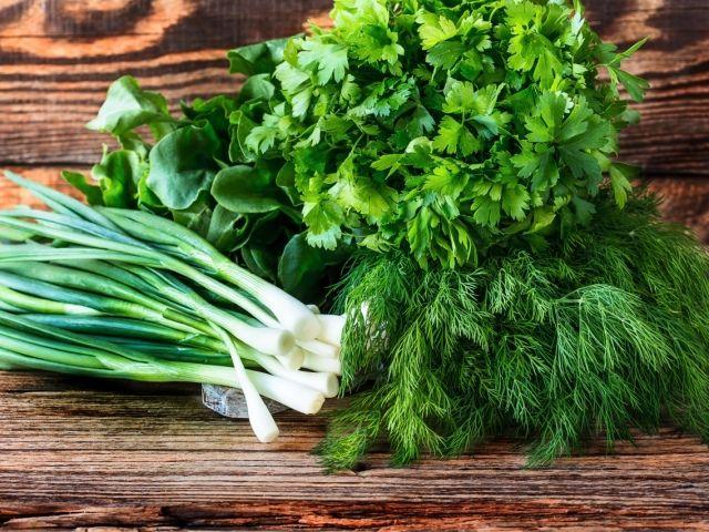 Как усилить иммунитет с помощью зеленого лука, укропа и петрушки