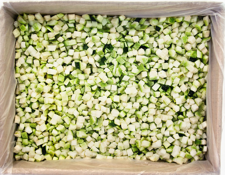 Подготовка цуккини к заморозке для длительного хранения