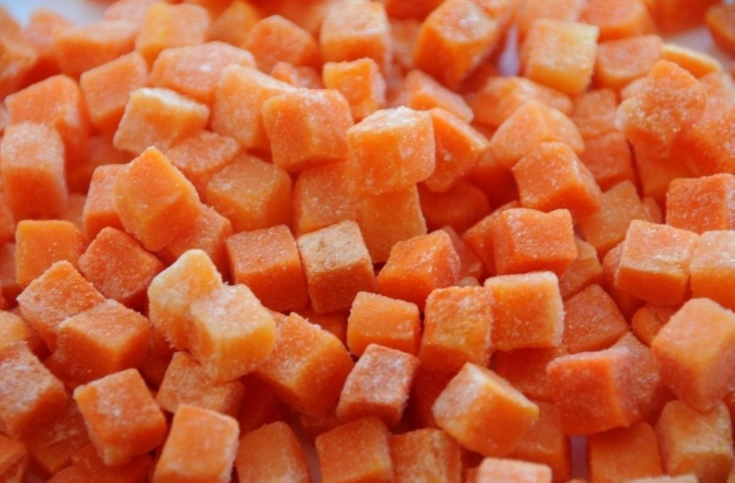 Заморозка - способ надолго сохранить растрескавшуюся морковь