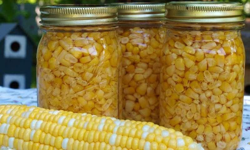 Как хранить кукурузу - заготовки на зиму