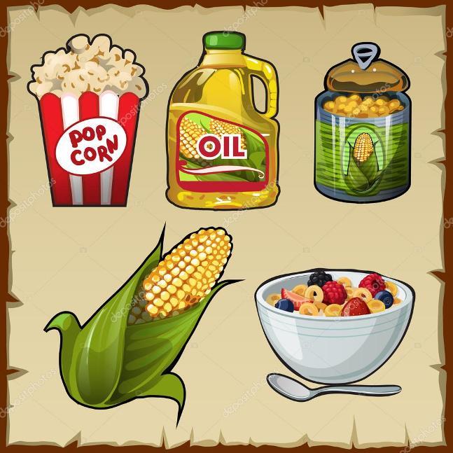 В каком виде употреблять кукурузу - вареное лакомство, хлопья, попкорн, масло
