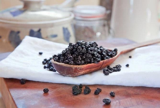 Лечение заболеваний с помощью сушеных ягод черники