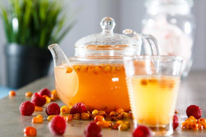 Повышаем иммунитет облепиховым чаем