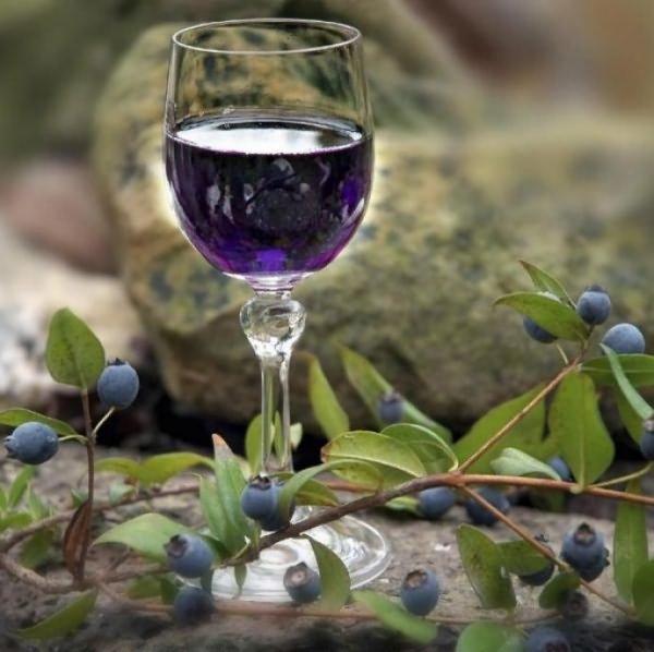 Приготовление целебных напитков - вино из ягод санберри