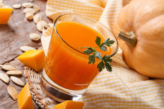 Тыквенный сок - как использовать для похудения
