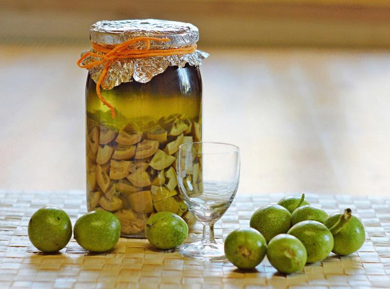 Как приготовить настойку из кожуры грецких орехов