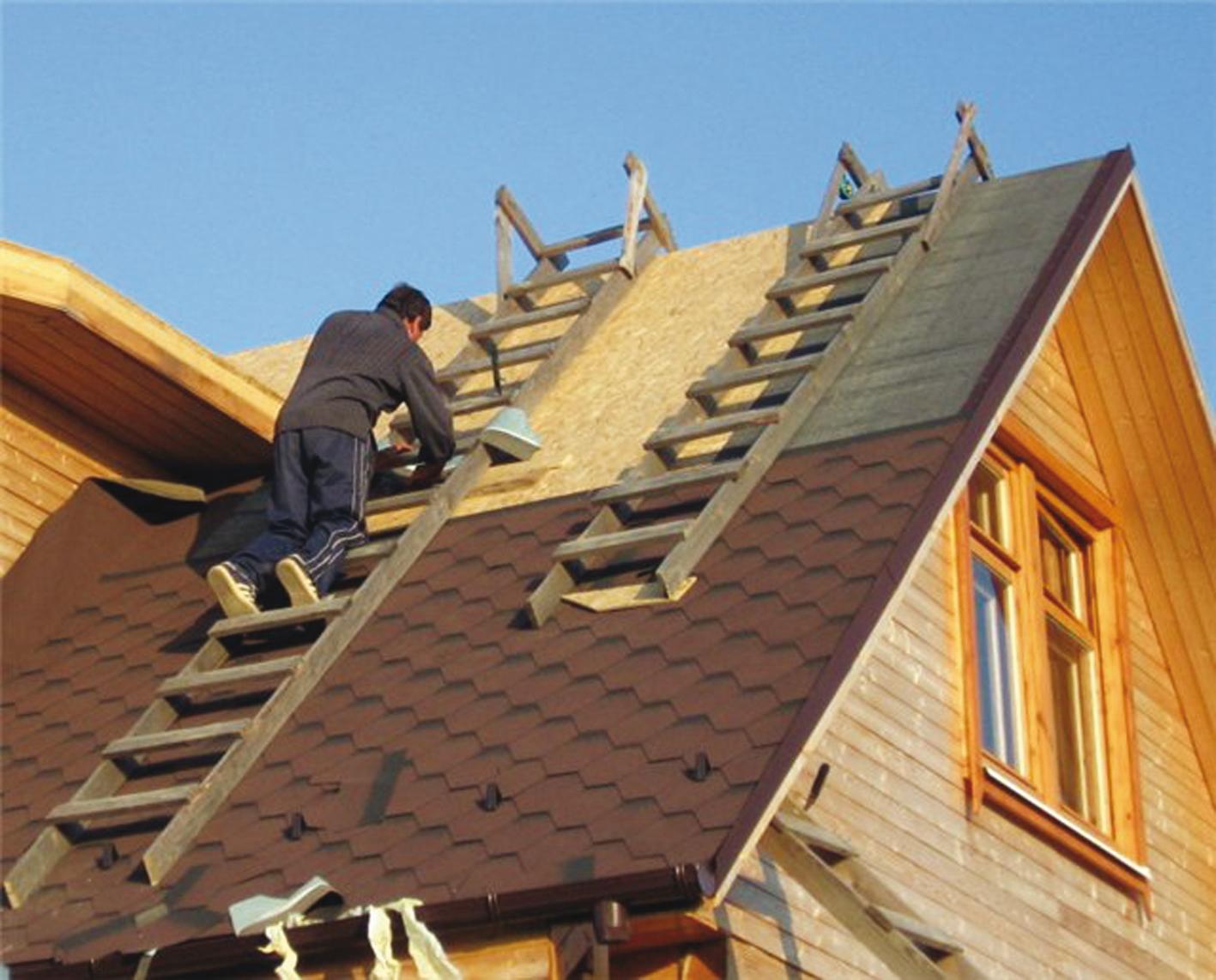Как сделать лестницу для работы на крыше своими руками 6