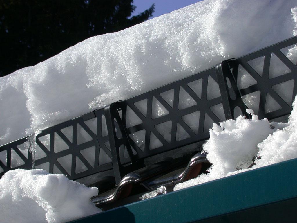 Снегозадержатели на крышу в виде решетки