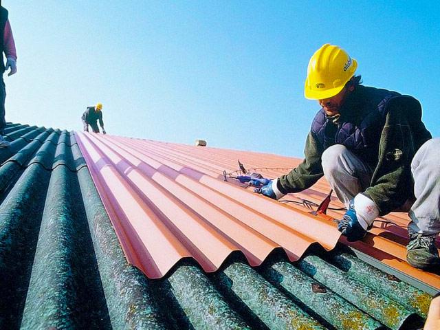 Чем можно отремонтировать шиферную крышу своими руками 41