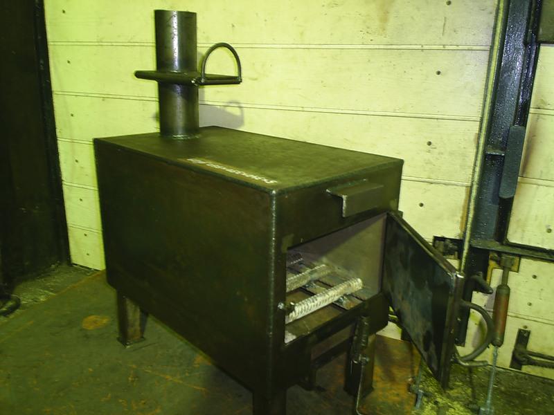 Изготовление печей для гаража своими руками
