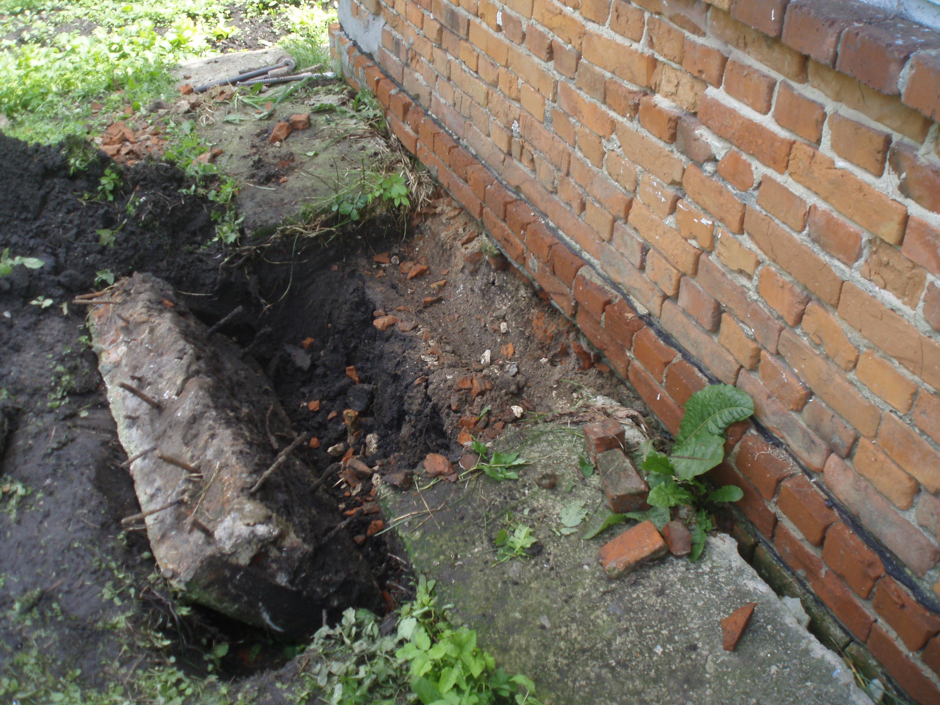 Как укрепить фундамент старого кирпичного дома: видео 956